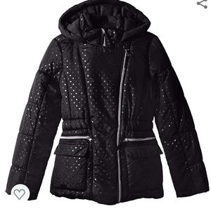 Rothschild Asymmetrical Zip Puffer Jacket Size L
